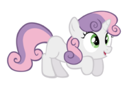 Excited sweetie belle vector by m99moron d47kss0-fullview