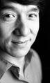 Jackie Chan B&W portrait