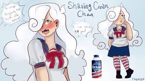 Shaving cream~Chan