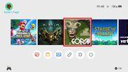 Switch menu w Mario Diablo GORSD and Stardew