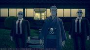 Sejima and bodyguards