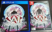 AI boxart PS4 and Switch