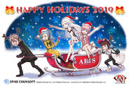 AI Christmas card