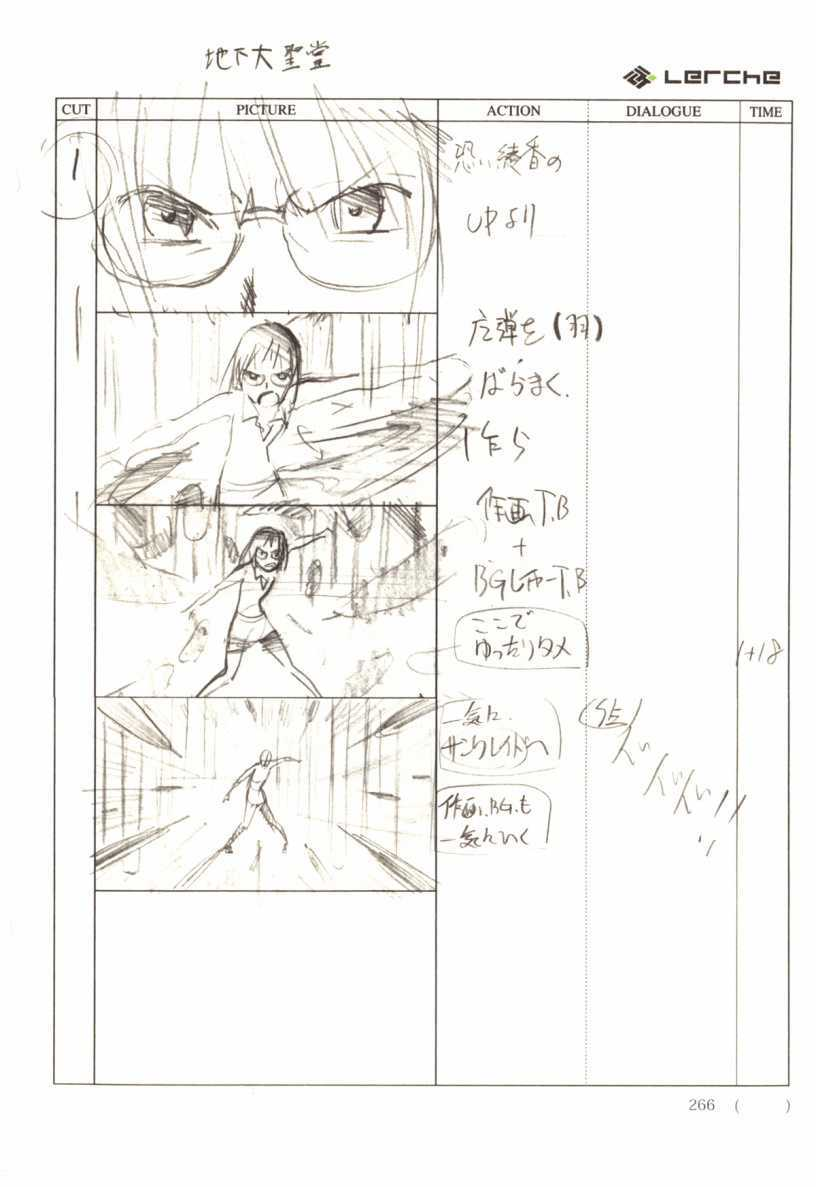 Fate/Prototype Phác thảo 16