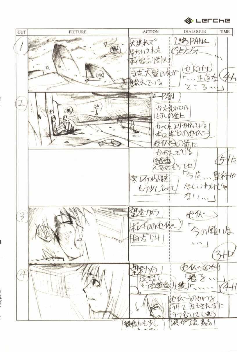 Fate/Prototype Phác thảo 06