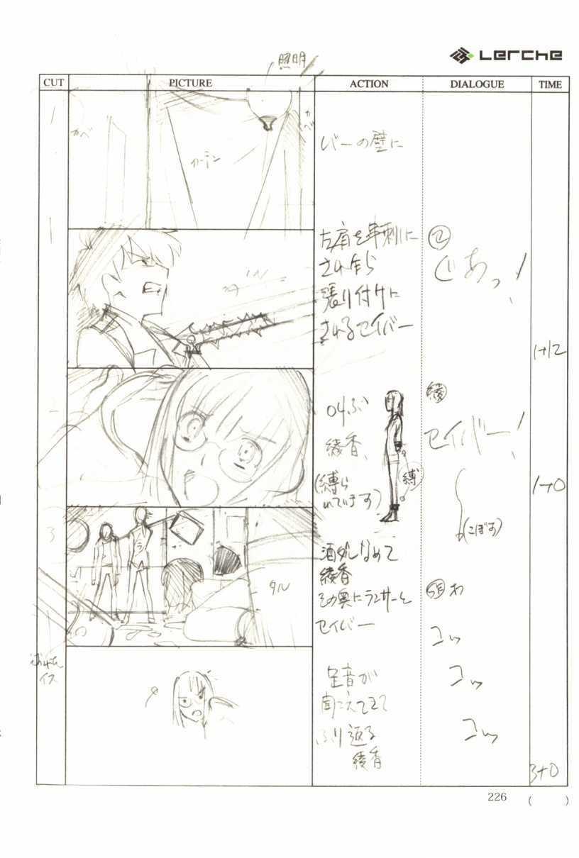 Fate/Prototype Phác thảo 13