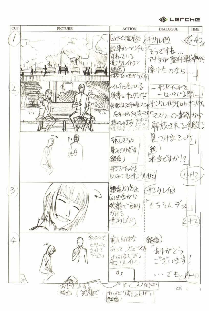 Fate/Prototype Phác thảo 12
