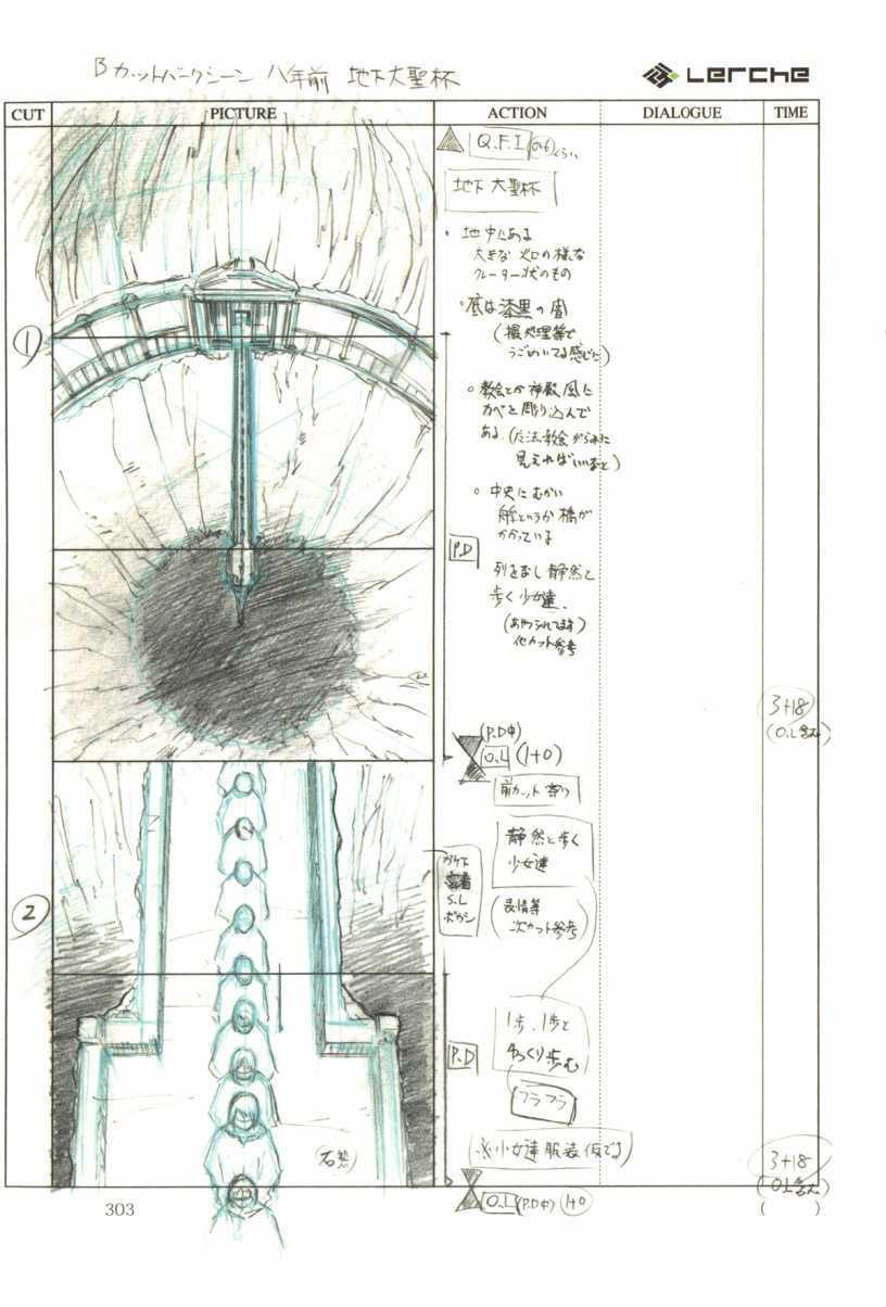 Fate/Prototype Phác thảo 18