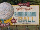 World's Largest Rubberband Ball