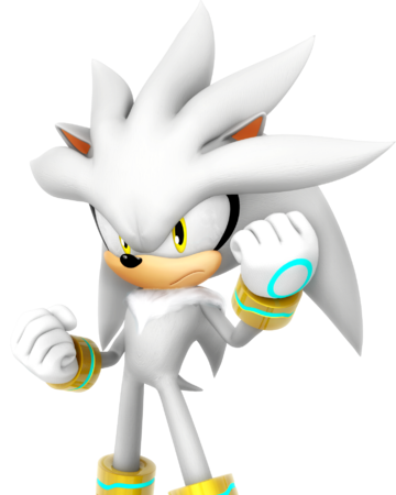 Silver the Hedgehog model.png