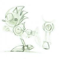 Metal Sonic CD concepts 2