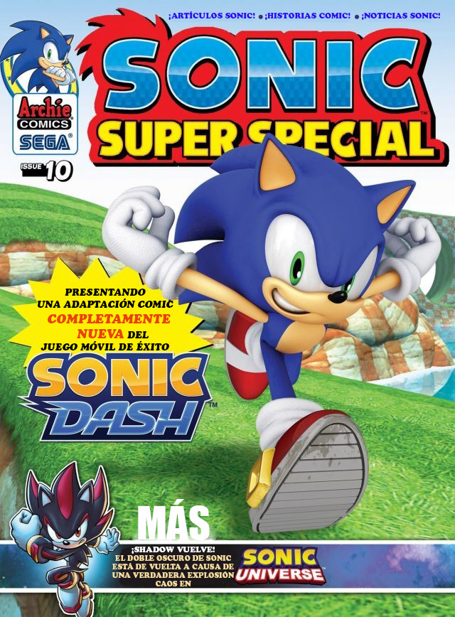 Archie Sonic Super Special Magazine Issue 10