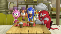 Knuckles and the gang