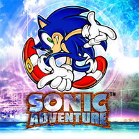 Sonic Adventure Box Artwork