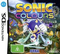 Sonic Colours DS AU cover