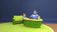 SB S1E42 Comedy Chimp Show inside