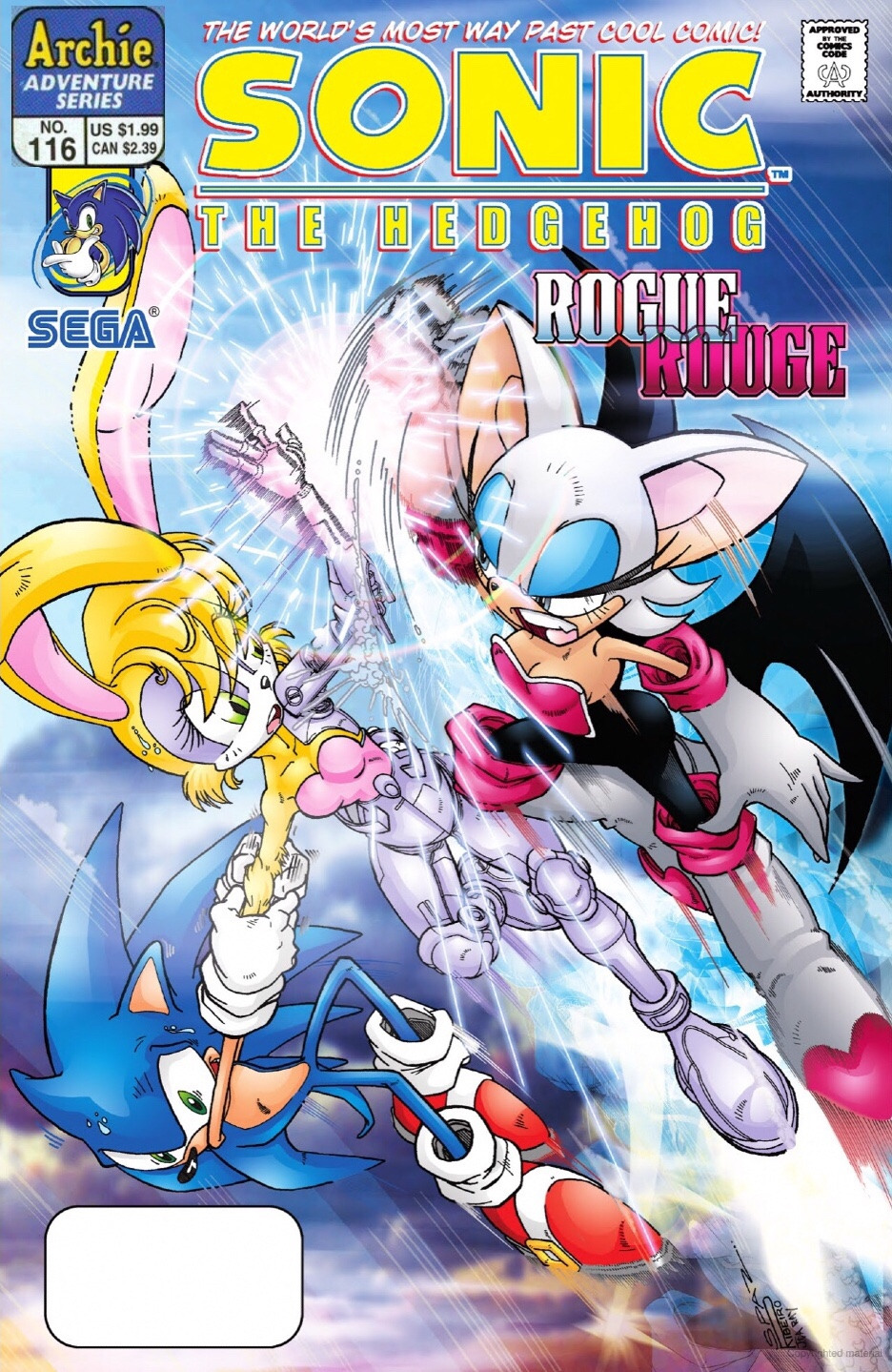 Archie Sonic the Hedgehog Issue 116