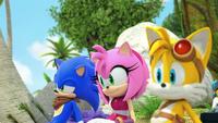 SB S1E02 Sonic Amy Tails