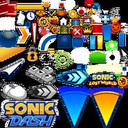 Sonic Dash textures