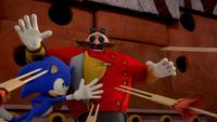 SB S1E22 Sonic Eggman darts