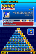 Sonic and Sega All Stars Racing DS Missions