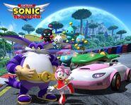 Team Sonic Racing Rose promo