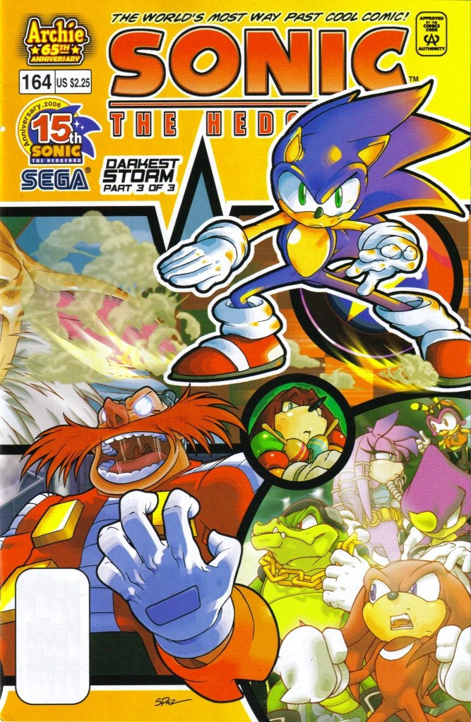 Archie Sonic the Hedgehog Issue 164