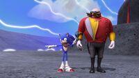 S1E11 Sonic nudge Eggman