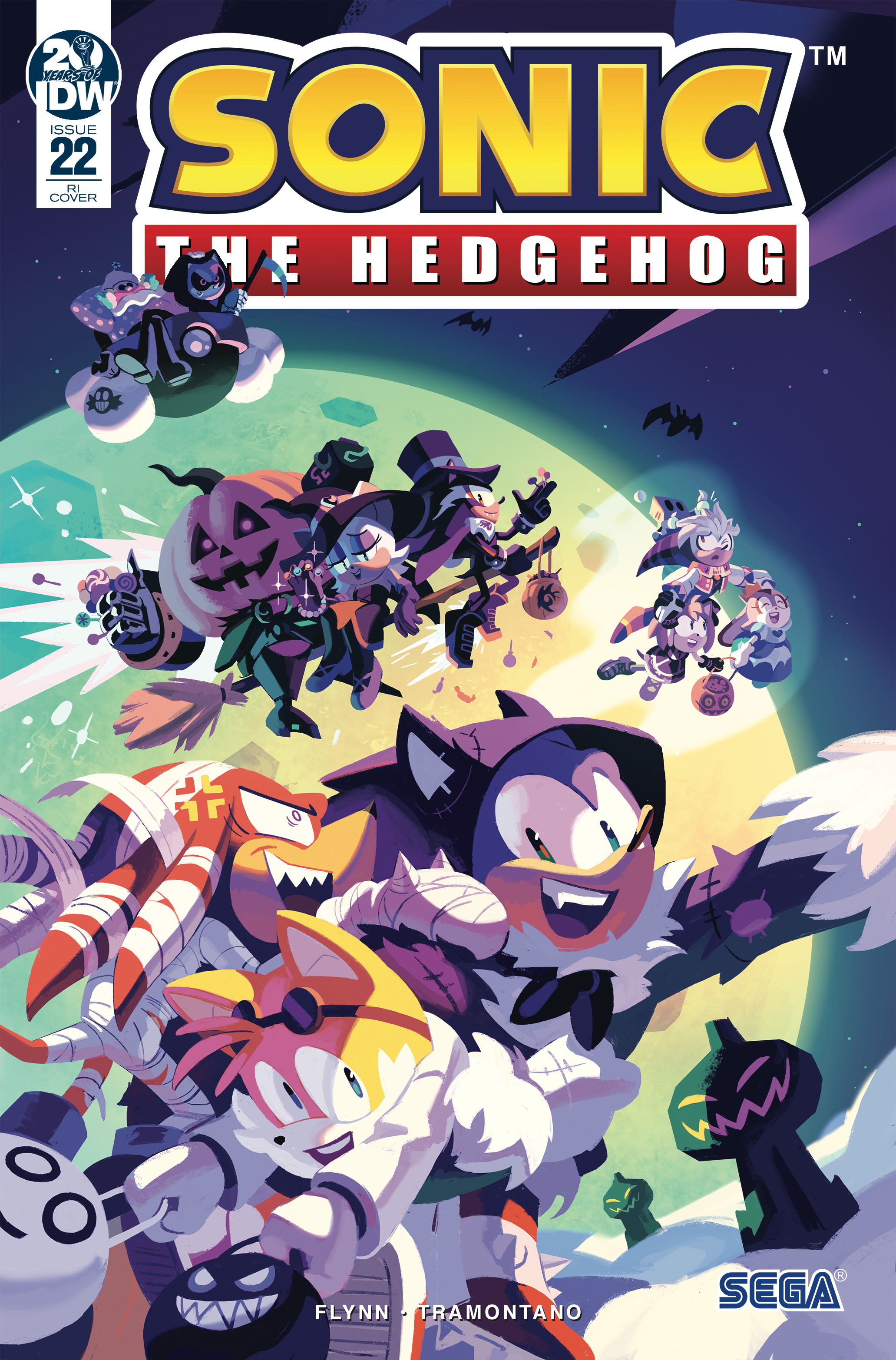 IDW Sonic the Hedgehog Issue 22