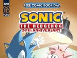 IDW Sonic the Hedgehog Free Comic Book Day 2021