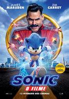 Sonic O Filme - Pôster Português