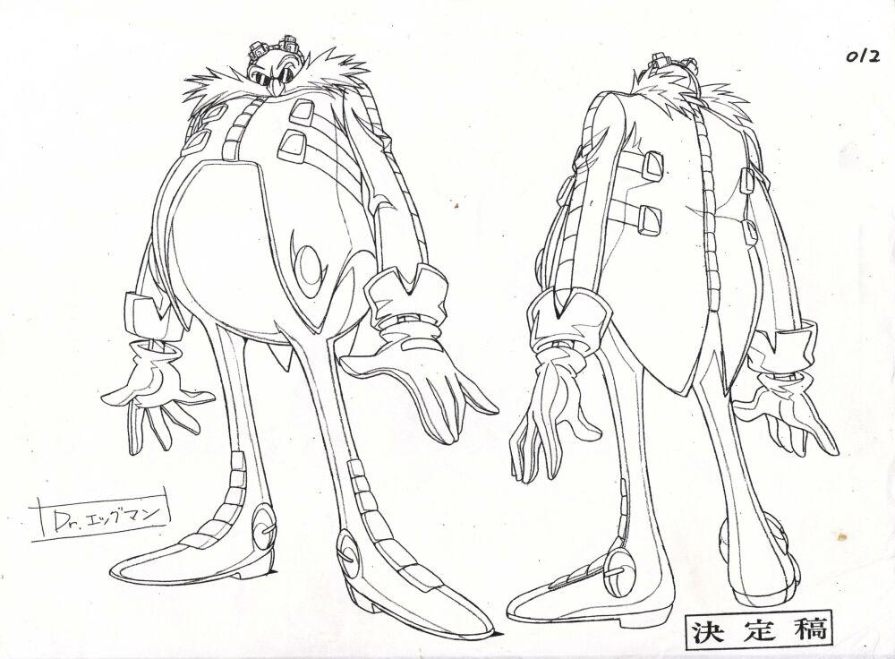 Doktor Eggman (Sonic X)/Galeria