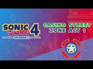 Casino Street Zone Act 1 - Sonic the Hedgehog 4- Episode I