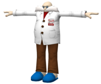 Professor Gerald Robotnik model