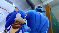 SB S1E08 Sonic Eggman blue