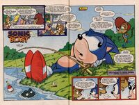 Sonic Blast Special pages 2 and 3