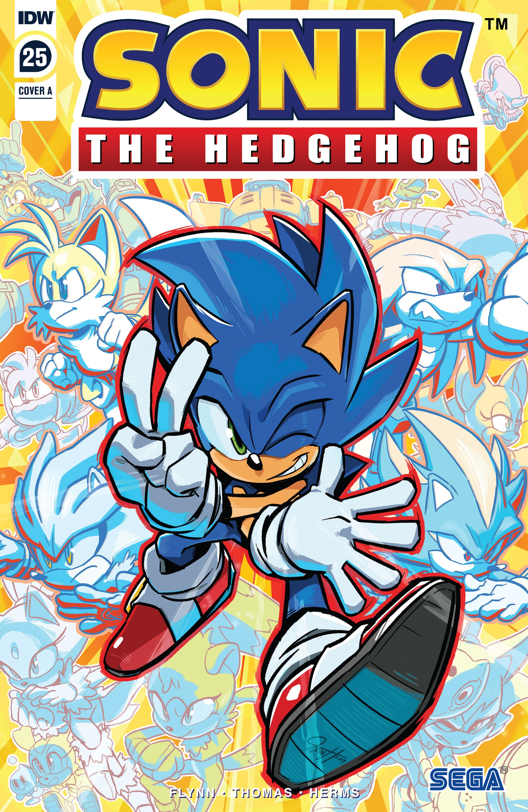 IDW Sonic the Hedgehog Issue 25