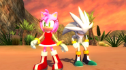Amy i Silver