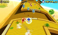 Buzz Bombers in Sonic Lost World