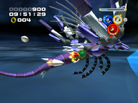 Metal Overlord ATTACK crystal attack 2