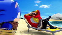 SB S1E19 Sonic Eggman beach 1