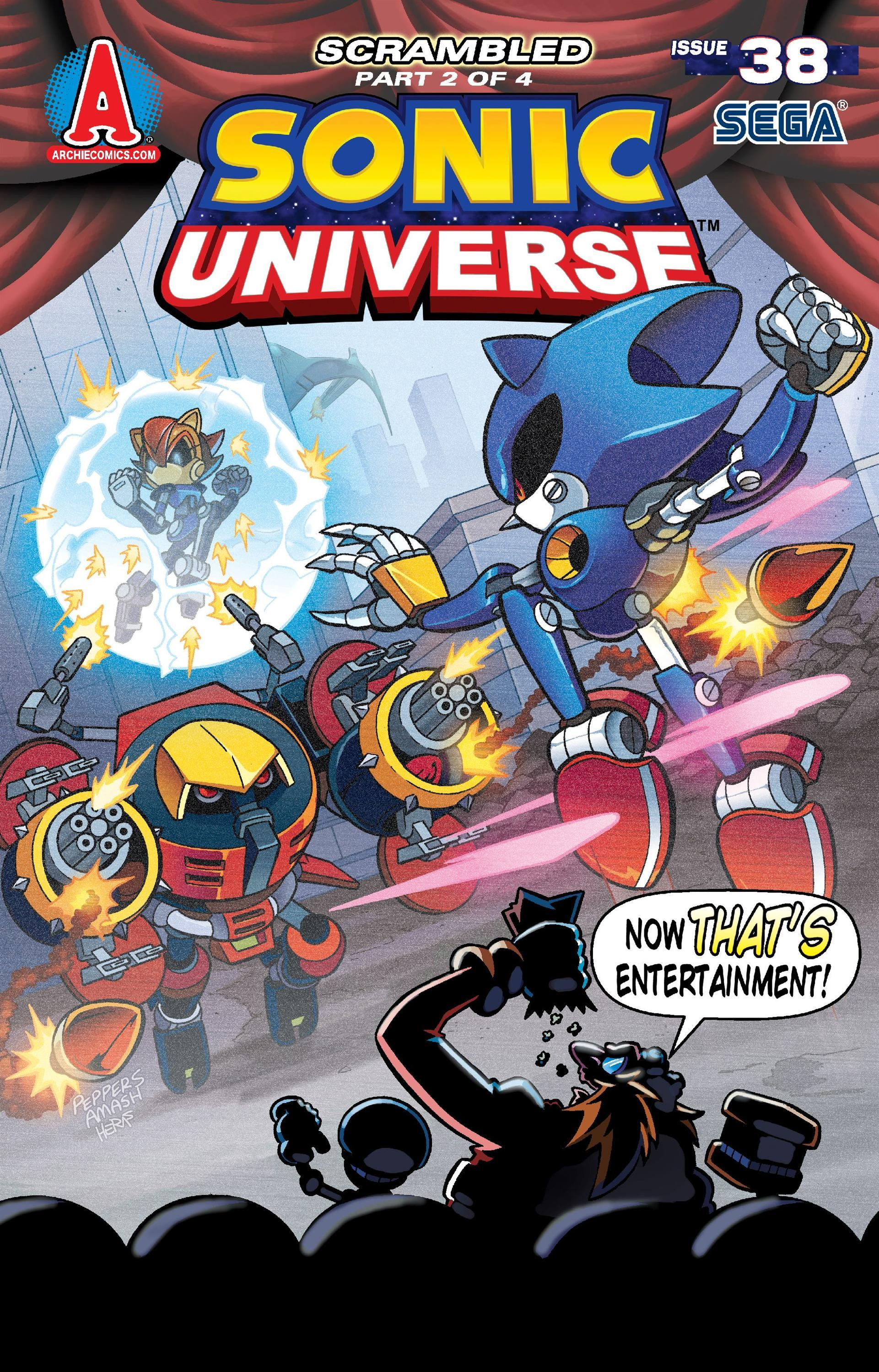 Archie Sonic Universe Issue 38