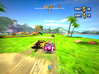 Sonic & SEGA All-Stars Racing Ocean Ruin 7