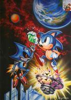 Sonic CD US artwork