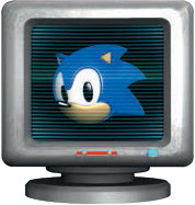 Sonic MSG item box 1-Up