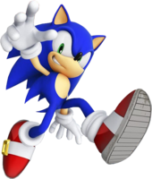 Sonic the Hedgehog from Sonic Channel 2013
