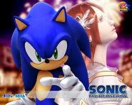 Sonic y Elise Artwork