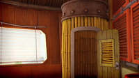 Tails House Bamboo closet