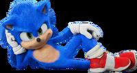 SonicFilm SonicLyingOnSide