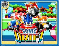 Sonic Drift Online Card
